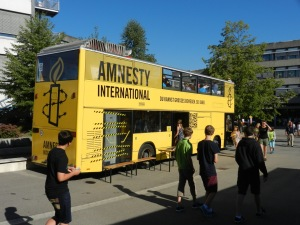 Amnesty-Mobil Biberach Pestalozzi-Gymnasium